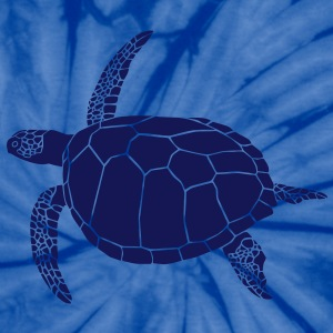sea turtle scuba diving coral reef T-Shirts - Unisex Tie Dye T-Shirt