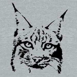 lynx cougar puma jaguar cat wild bobcat T-Shirts - Unisex Tri-Blend T-Shirt by American Apparel