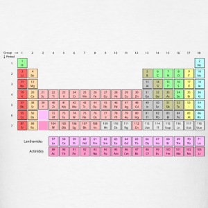 Periodic Table T-Shirts - Men's T-Shirt