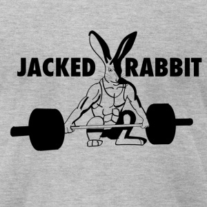 Jacked Rabbit T-Shirts - Men's T-Shirt by American Apparel