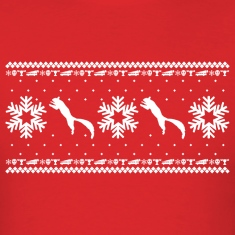 CHRISTMAS VACATION HOLIDAY PATTERN T-Shirts
