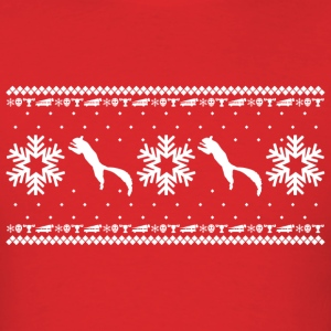 CHRISTMAS VACATION HOLIDAY PATTERN T-Shirts - Men's T-Shirt