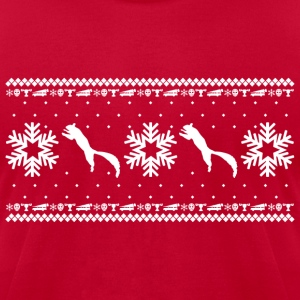 CHRISTMAS VACATION HOLIDAY PATTERN T-Shirts - Men's T-Shirt by American Apparel