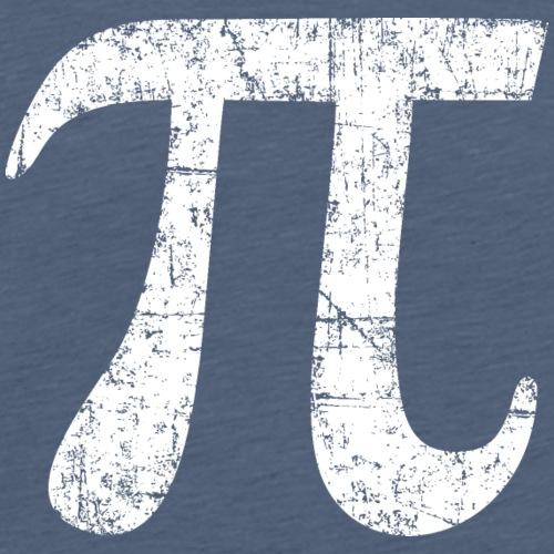 Letter Number Pi (Ancient White)