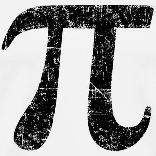 Letter Number Pi (Ancient Black)
