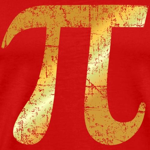 Letter Number Pi (Ancient Gold)