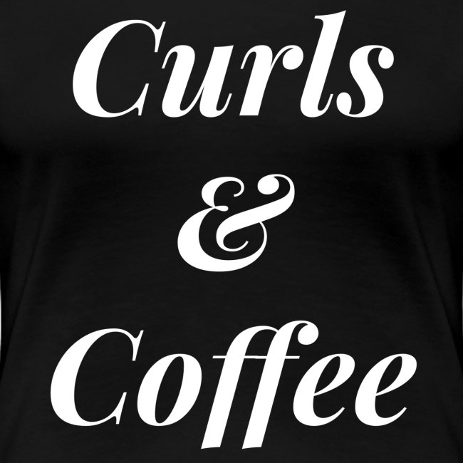 Curls & Coffee Tee