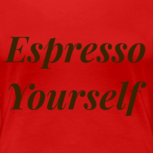 Brown Espresso Yourself Tee