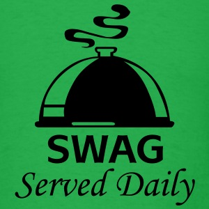 Swag served daily - Men's T-Shirt