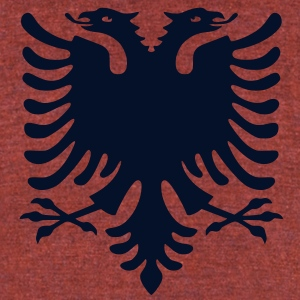 Albania - Unisex Tri-Blend T-Shirt by American Apparel
