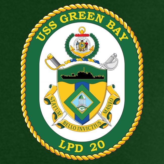 USS GREEN BAY LPD-20 TEE