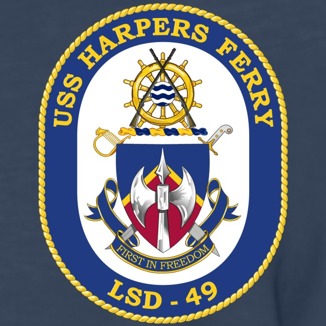 USS HARPERS FERRY LSD-49 LONG SLEEVE