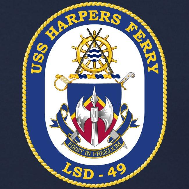 USS HARPERS FERRY LSD-49 SWEATSHIRT