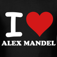 Design ~ I Love Alex Mandel - Gildan