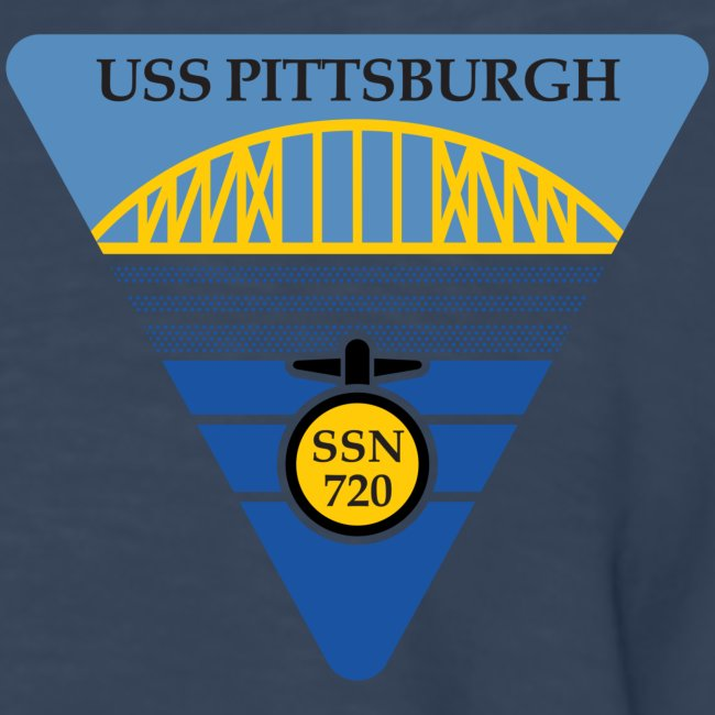 USS PITTSBURGH SSN-720 LONG SLEEVE