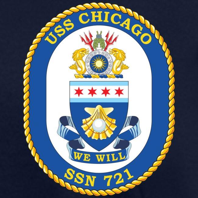 USS CHICAGO SSN-721 TEE - WOMENS