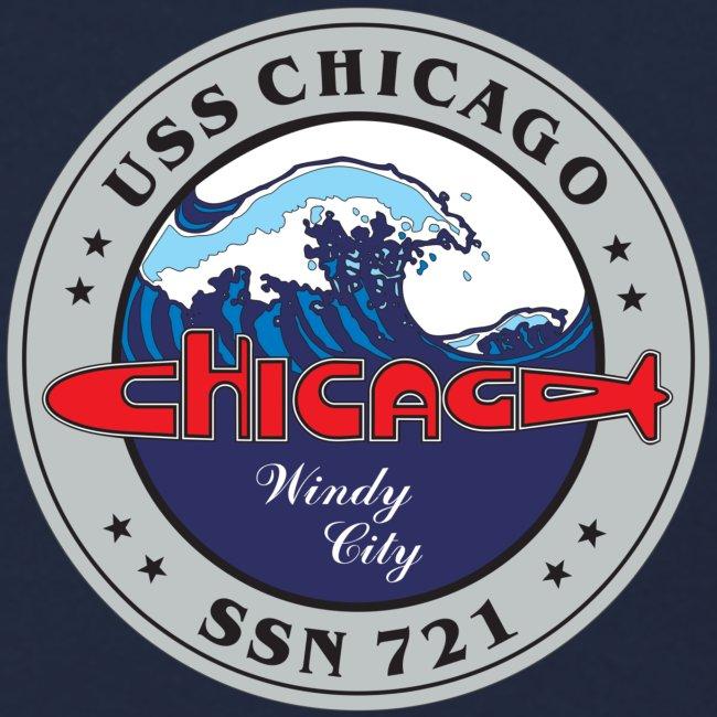 USS CHICAGO SSN-721 SWEATSHIRT