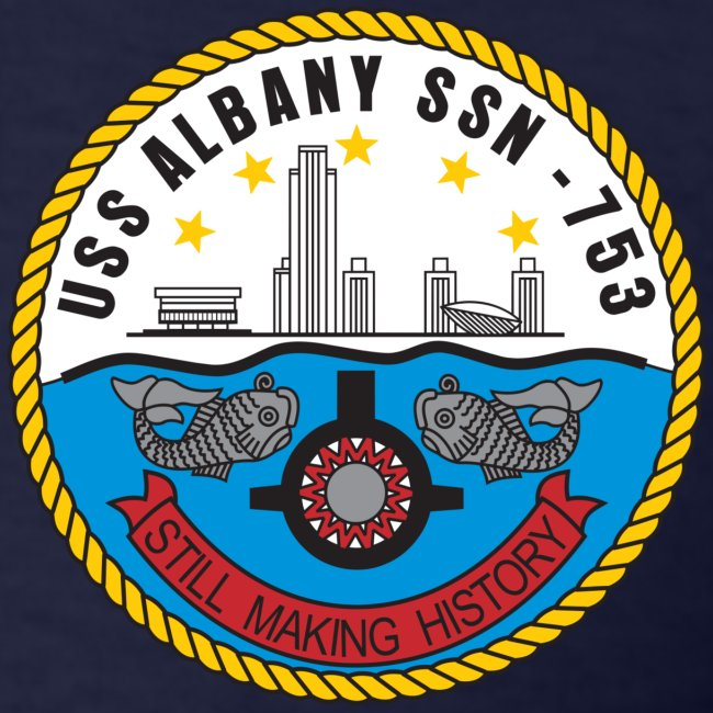 USS ALBANY SSN-753 TEE