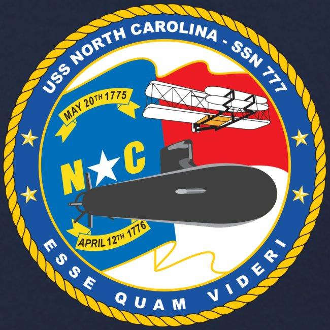USS NORTH CAROLINA SSN-777 SWEATSHIRT