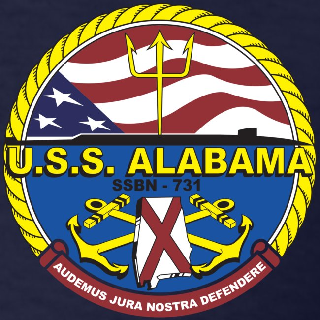 USS ALABAMA SSBN-731 TEE