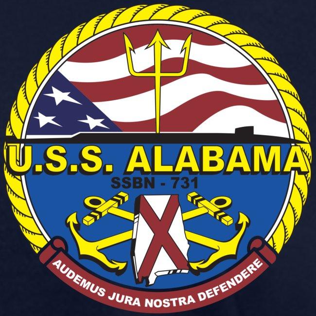 USS ALABAMA SSBN-731 TEE - WOMENS