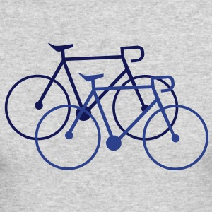 bike singlespeed fixie bycicle Long Sleeve Shirts - Men's Long Sleeve T-Shirt by Next Level