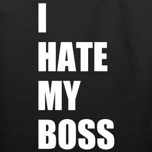 I hate my boss Bags  - Eco-Friendly Cotton Tote