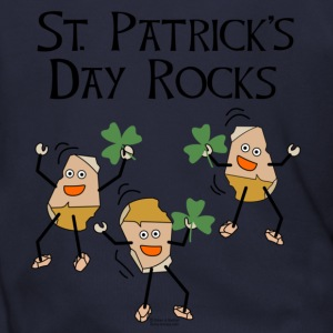 St. Patrick's Day Rocks Zip Hoodies/Jackets - Men's Zip Hoodie
