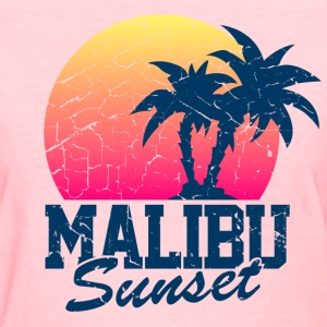 Vintage Malibu Sunset used - Women's T-Shirt