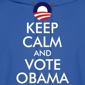 Keep Calm and Vote Obama Hoodies - Men's Hoodie
