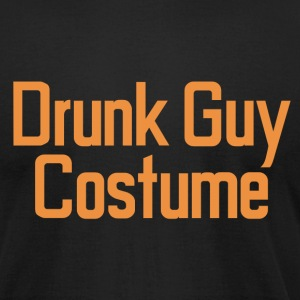 DRUNK GUY COSTUME T-Shirts - Men's T-Shirt by American Apparel