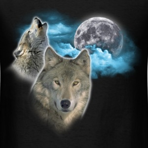 Wolves Moon 2 T-Shirts - Men's T-Shirt