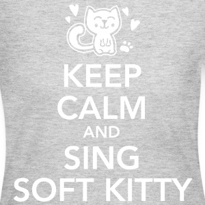 Keep calm and sing soft kitty Long Sleeve Shirts - Women's Long Sleeve Jersey T-Shirt