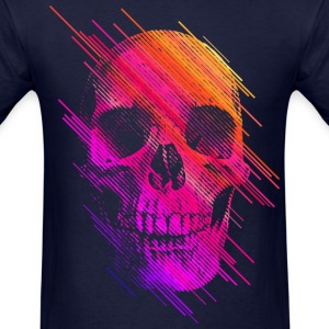 Colorful Skull T-Shirts - Men's T-Shirt