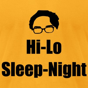 Hi Lo - Sleep Night KCCO T-Shirts - Men's T-Shirt by American Apparel