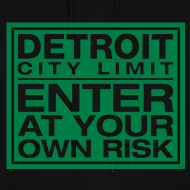 Design ~ Detroit Risk Womens Hoodie