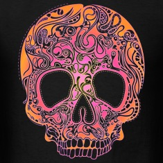 Colorful Skull T-Shirts