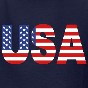 USA Kids' Shirts - Kids' T-Shirt