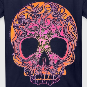 Colorful Skull Kids' Shirts - Kids' T-Shirt