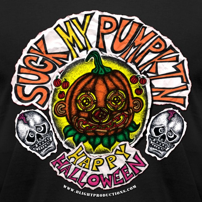 SUCK MY PUMPKIN (MENS 3X T-SHIRT)