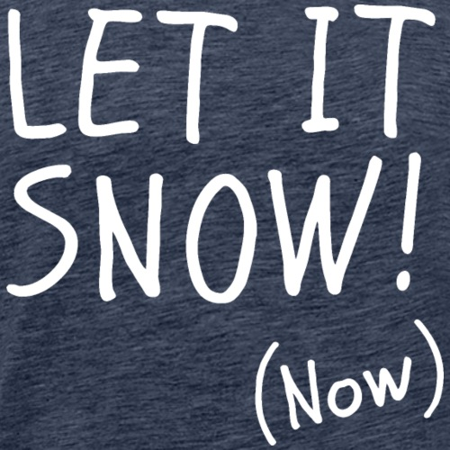 Let it Snow Now Winter Sports Design