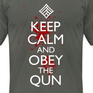 obeythequn T-Shirts - Men's T-Shirt by American Apparel