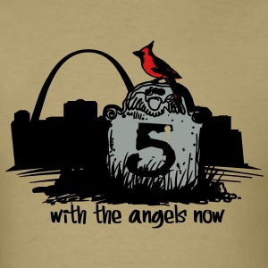 He is with the Angels Now - Men's T-Shirt