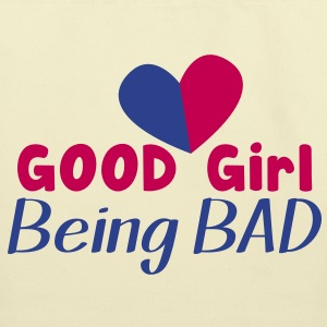 GOOD GIRL being BAD!  Bags  - Eco-Friendly Cotton Tote