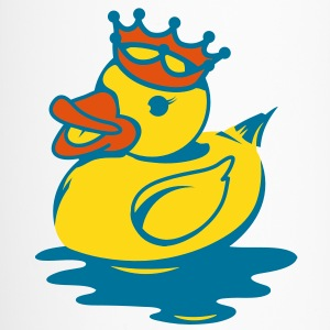A duck with a crown Accessories - Travel Mug