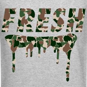 Fresh Woodlands Camo - Crewneck Sweatshirt