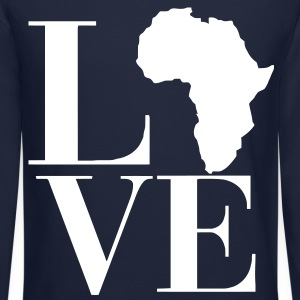 Love Africa Long Sleeve Shirts - Crewneck Sweatshirt