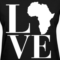 Love Africa Women's T-Shirts