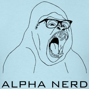 Alpha Nerd - Men's T-Shirt