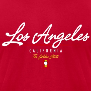 Los Angeles Script American Apparel T-Shirt - Men's T-Shirt by American Apparel